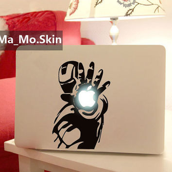 Iron man-Macbook Decals Macbook Stickers Mac Cover Skins Vinyl Decal for Apple Laptop Macbook Pro Air11 13 15 17/Uniboday Partial Skin