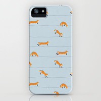 Fox iPhone Case by Landon Sheely | Society6