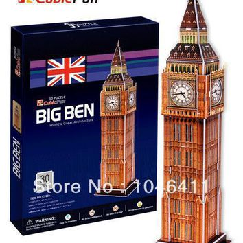 Big Ben CubicFun 3D educational puzzle Paper & EPS Model Papercraft Home Adornment for christmas gift