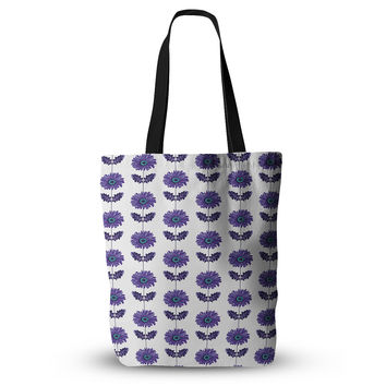 "Laura Escalante ""Purple Gerbera"" Lavender Flower Everything Tote Bag"