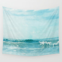 Ocean 2237 Wall Tapestry by The Last Sparrow