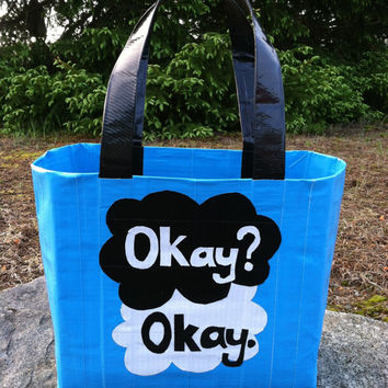 Okay?  Okay.  Duct Tape Tote Purse