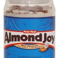 Hershey's by Hanna's Candle 15-Ounce Almond Joy Jar Candle