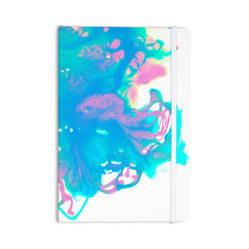 "Ashley Rice ""AC2"" Teal Blue Everything Notebook"