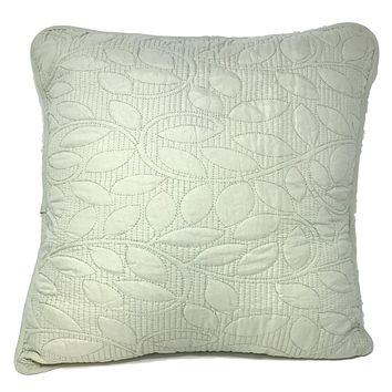Tache 2 Piece Barely Green Sweet Pea Cushion Cover Set