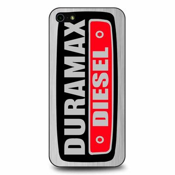 Duramax Diesel On Plate iPhone 5/5s/SE Case