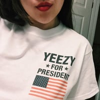 Womens Yeezy For President T-Shirt