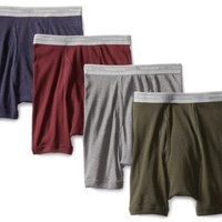 Hanes Men's 4 Pack Boxer Brief, Multi Color Assorted, Medium