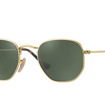 Ray-Ban Prescription HEXAGONAL Gold , RB3548N | Ray-Ban® UK