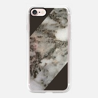 Cocoa Marble iPhone 7 Case by Lisa Argyropoulos | Casetify