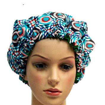 Slay Multi Color Adult Ankara Bonnet