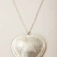 NATALIE B NAKED HEART NECKLACE