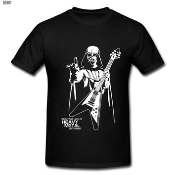 Darth Vader Heavy Metal Designer Funny T Shirts (Multiple Colors)
