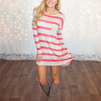 Easy Day Tunic/Dress Coral