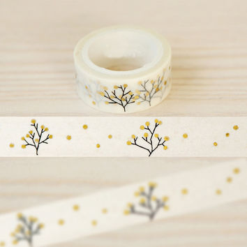 1.5cm*5m Wish Tree washi tape DIY decoration scrapbooking planner masking tape adhesive tape kawaii stationery