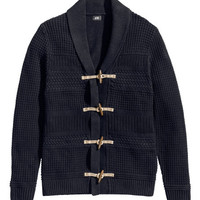 H&M - Textured-knit Cardigan -
