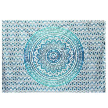 DCCKJG2 Hot!!!Indian Tapestry Wall Hanging Mandala Throw Gypsy Cover Bohemian Dorm Deco Picnic Throw Towel Yoga Mat Blanket