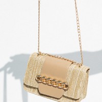 Chain Bag - Nude - Bags by Sabo Skirt