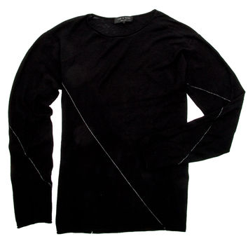 Rag & Bone Black Tyler Sweater