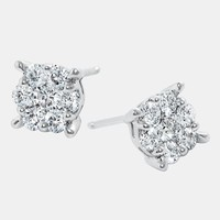 Women's Bony Levy 'Lucky 7' Diamond Earrings (Nordstrom Exclusive)