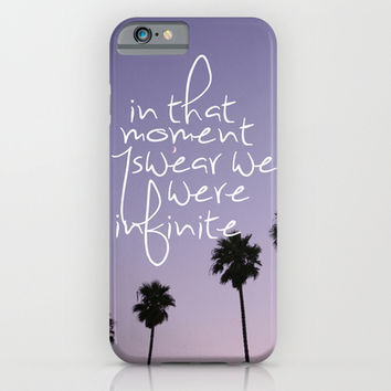 the perks of being a wallflower iPhone & iPod Case by Hannah