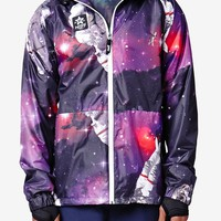 Neff Space Man Poncho Jacket - Mens Tee - Black