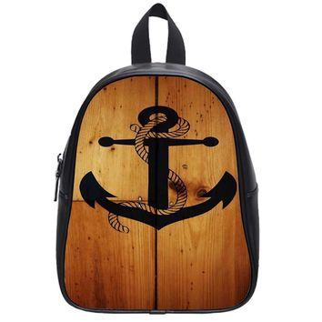 The Anchor Hanging School Backpack Large