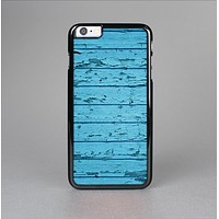 The Blue Aged Wood Panel Skin-Sert for the Apple iPhone 6 Skin-Sert Case