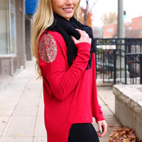 Written in the Stars Top - Red