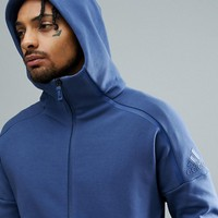 adidas ZNE 2 Hoodie In Navy CE4259 at asos.com