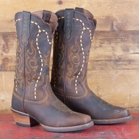 Justin Whip-stitched Silver Label Boots
