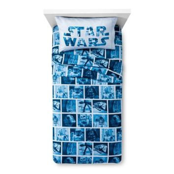 Star Wars Classic Logo Full Set - NEW! Sheet set 4 piece 3 Days only Get it Now