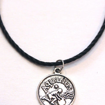 Zodiac Sign: Aquarius Choker Necklace