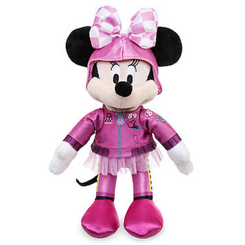 "Disney 10"" Minnie Mouse Plush Mickey and the Roadster Racers New with Tags"
