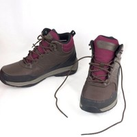 Leather Hiking Boot Waterproof  Backpacking Womens 10 D Wide New Balance WW1400