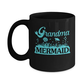 Grandma Mermaid Mug