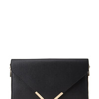 FOREVER 21 Side-Zip Envelope Clutch