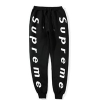 Fashion Mens Jogging Pants Sports New Supreme Mens Joggers Casual Harem Sweatpants Sport Pants Men Gym Bottoms Track Training Jogging Trousers