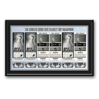 Los Angeles Kings 2012 NHL Stanley Cup Final Tickets To History Framed Print