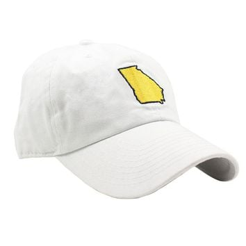 GA Atlanta Gameday Hat in White by State Traditions