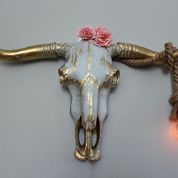 best cow skull decorating products on wanelo