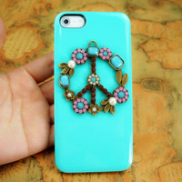 Peace Sign Anti War iPhone Case