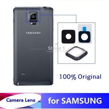 3Sets for Samsung Galaxy Note 4 OEM Glass Camera Lens+Lens Cover 100% Original Replacement Part +Sticker+Valid Tracking Code