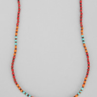 Variegated Bead Necklace