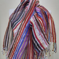 Colorful Women's Scarf - Colorful Scarf - KR1411121
