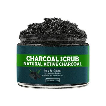 Charcoal Face & Body Scrub