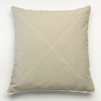 Happy Chic by Jonathan Adler Holly Euro Pillow (Grey)