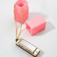 fredflare.com | 877-798-2807 | harmonica necklace
