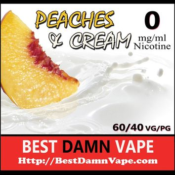 Peaches and Cream E-Liquid