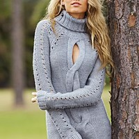 Keyhole front turtleneck from VENUS